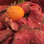 45537348 - あべ牛ローストビーフ丼