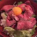 45537354 - あべ牛ローストビーフ丼