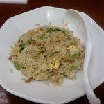 一麺亭 - 一麺定食 半炒飯
