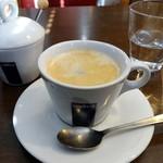 浅井食堂 - セットのコーヒー