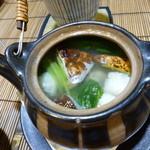 わさびや - 松茸と鱧の土瓶蒸し