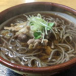 手打ち蕎麦 玄葉 - 料理写真:かしわそば  ¥700