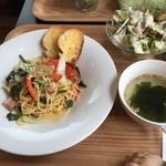 かんカフェ - 料理写真:パスタランチ