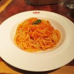 45545916 - ランチの完熟トマトのタリオーニポモドーロ