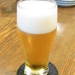 ステラ - ランチビール¥350 銘柄不明 生小くらいの量