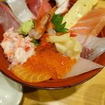 魚旨 - 近江町市場丼②