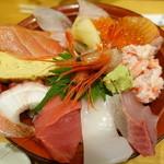 魚旨 - 近江町市場丼①
