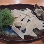 三里 - 蕎麦刺身