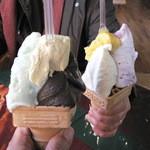 ウエモンズ ハート - 冬に食べるアイスって、贅沢ですよね