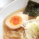 天下ご麺 - 味付け煮玉子 '15 11月上旬