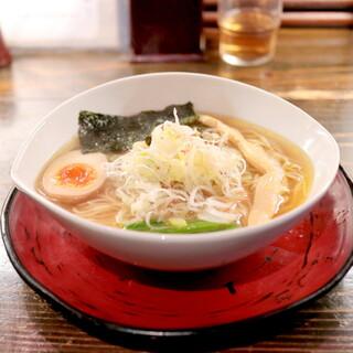 天下ご麺 大津店 - 近江塩鶏麺 (700円)  '15 11月上旬