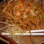 麺場 田所商店 - 北海味噌 肉ネギラーメン+炙りチャーシュー1枚