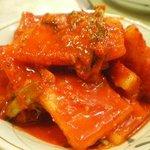 焼肉ハウス三宝 - キムチ