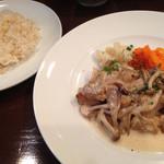 45550256 - ランチ・ご飯とメイン