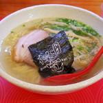 篠寛 - 塩ラーメン大盛り(730円)