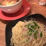 45551709 - 炙りチーズつけ麺(2015/12)