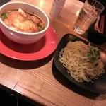 45551729 - 炙りチーズつけ麺(2015/12)
