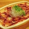泉の鯉 - 料理写真:1200円『鯉の刺身(鯉コク付)写真は2人前』2015年12月吉日