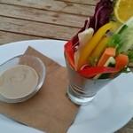 45556981 - 野菜のアンチョビディップ