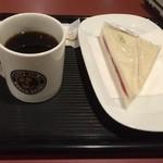 カフェ・ベローチェ - おはようございます。 久しぶりにベローチェ。