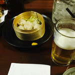 なか田 - 料理写真:焼売&小籠包