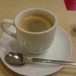 45560855 - エスプレッソコーヒー                       食事の余韻を楽しめます。