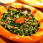ミシュミシュ - パセリのサラダ