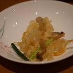 パルケ・ミエール - 白魚の山椒風味揚げ