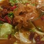 四川料理 川香苑 - 水煮牛肉アップ