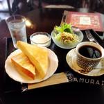 ウチコーヒー - モーニング 500円