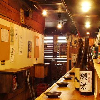 昭和レトロな立ち飲み酒場