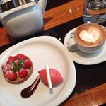 グッチ・カフェ - デザートセット