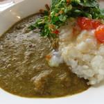 金澤ななほしカレー - 豆カレーと温泉卵