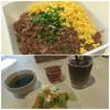 ゴリアテ・カフェ - 料理写真:二色そぼろ丼ランチ
