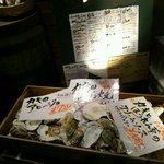 45568101 - 今月は牡蠣の販売月間だそうです。
