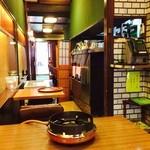 ふぐ料理 与太呂 - 店内、お一人様向けカウンター席もあります!