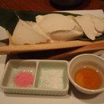 鳥良 吉祥寺4号店 - 大吟醸絹仕込み豆腐