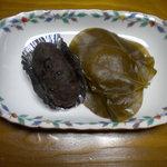 藤田万十店 - 料理写真:いげの葉と的ばかい