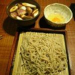 そば草香 - 鴨玉蕎麦(1400円)