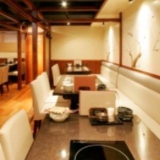 接待や各種飲み会・宴会に対応できる個室もご用意しております!