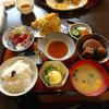 ゆたか - 料理写真:H27.12.13 和定食「刺身」・「天ぷら」