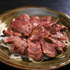 義常 - 料理写真:白レバーのタタキ