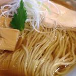 桜木製麺所 - 醤油中華