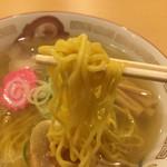 らーめん きちりん - 麺箸あげ