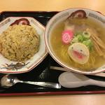 らーめん きちりん - ラーメンセット1000円