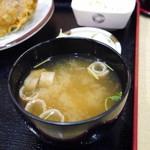 とりかん - お味噌汁