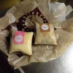 ラップド クレープ コロット - イチゴ220円/チョコクッキー180円