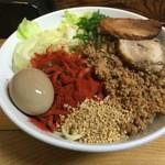 自家製麺 てんか - 2015.12 特製汁なし坦々麺 大