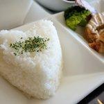 ビストロ シュシュ - 料理写真:ライス(ハート型)