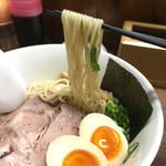 天日地鶏 - 細麺